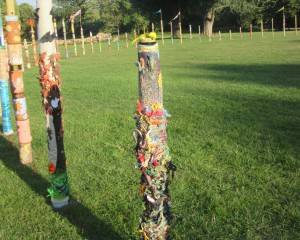 A collection of 84 totems poles depicting the seasons on Pangbourne Meadow until 30 September.